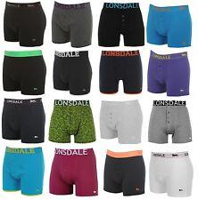 Herren Boxershorts von LONSDALE Unterwäsche Trunks 4er 6er 10er Pack NEU