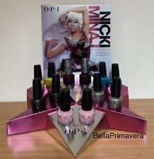 Opi Nicki Minaj Collection 12 Original Nail Lacquer & Counter Display