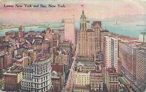 NEW YORK CITY - Lower New York and Bay