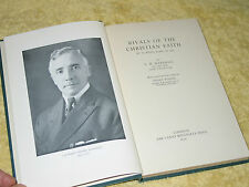 RIVALS OF THE CHRISTIAN FAITH, L.H. Marshall, HB 1st 1954. Comparative religion