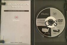 2005 2006 2007 Cadillac SRX DTS GPS Navigation DVD Map General Motors U.S Canada