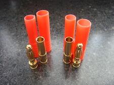 10x HXT 4MM Bullet banana Connectors