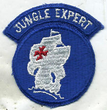 Early Vietnam Era Jungle Expert One Piece Cut Edge Patch