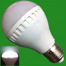 8x 6W R63 LED Réflecteur 6500K Lumière jour Blanc Ampoules Spot Éclairage ES E27