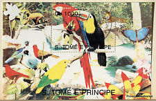 Sao Tome and Principe Bloc sheet on the BIRDS 14M1