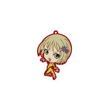 Tiger and Bunny Huang Pao-Lin Rubber Key Chain Anime Licensed NEW