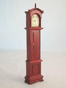 Grandfather Tall Case Clock  M0588M  miniature dollhouse furniture wooden 1pc