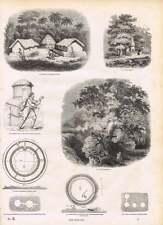 1854 Welsh Pigsty Gaulish Huts Druid Grove Chun Castle Subterranean Chambers