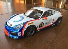 Porsche Cayman GT4 Clubsport - #64 TGM  1:18 Model