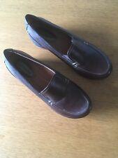 Hush Puppies Ladies Slip On Shoe In Brown Size Uk5 Eu38
