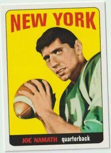 NFL New York Jets Football Cards - Namath, Sam Darnold Rookie, Jamal Adams etc