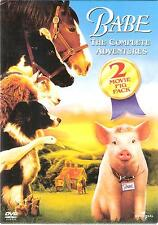 Babe: The Complete Adventures - 2 Movie Pig Pack (DVD, 2003, 2-Disc Set, Full Fr