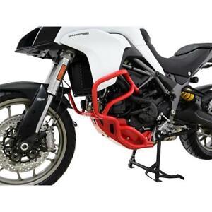 Ducati Multistrada 950 Yr 2017-21 Zieger Crash BAR Fall Protection Red
