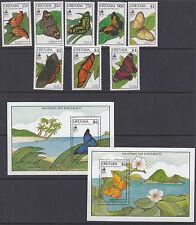 GRENADA: 1990 Columbus ( 3rd issue-Butterflies)set + M/Sheets SG2091-8 + MS MNH