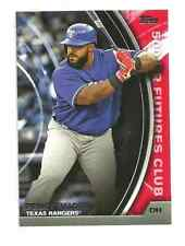 2016 Topps Update PRINCE FIELDER 500 HR Futures Club RED Texas Rangers