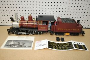LGB 2219S 2-6-0 Pennsylvania Steam Mogul Locomotive & Tender w/Sound *G-Scale*