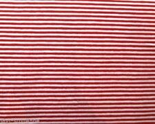 Ringeljersey Streifenjersey gestreift rot weiß Meterware Kinderstoff maritim