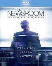 The Newsroom Complete Series 3 Blu Ray All Episodes Third Season Original UK NEW