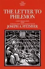 The Letter to Philemon: A New Translation with Introduction and Commentary (Anch