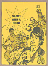1982 UK / BRITISH GIRL GUIDES (GG) BOOK - GAMES WITH A POINT