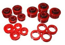 Energy Suspension 4.4120R Body Mount Set Red
