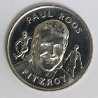 Paul Roos Fitzroy VFL Sunday Sun Commemorative Medal Coin 1989