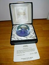 Limited Edition Caithness Paperweight ~ Space Beacon ~ 244/500 ~ BOXED ~ COA