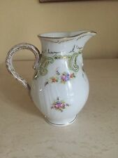 ANTIQUE FANCY, R.B BOSTON, HAND PAINTED PITCHER CREAMER Numbered EXCELLENT RARE!