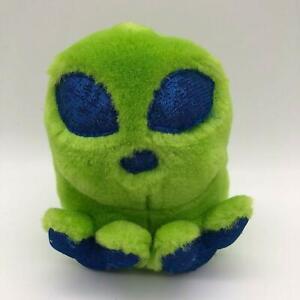 Swibco Puffkins Puff Roswell Green Blue Alien Plush Stuffed Animals Toys Kids