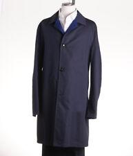 NWT $6995 KITON NAPOLI Reversible Cashmere Trench Coat 48 R (Eu 58) Jacket
