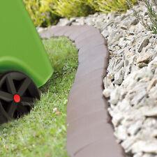 Palizzata bordatura giardino erba aiuola prato orto marrone grigia resistente