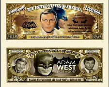 BATMAN / ADAM WEST - BILLET MILLION DOLLAR US ! serie Super Heros Comics BD dc