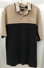 Ping Mens Large Golf Polo Shirt Size Large Black Brown Mens Clothing