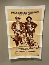 Butch Cassidy And The Sundance Kid Original One Sheet Movie Poster 1973