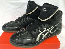 ASICS Unrestrained JY302 Blk MMA Ninja Warrior Tourney Wrestling Shoes Men's 12
