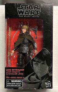 """Jedi Knight Luke Skywalker 6"""" Figure - Star Wars Black Series Walmart Exclusive"""