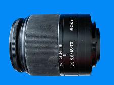 Sony DT 18-70mm f/3.5-5.6  Lens Sony Alpha / Minolta AF Mount