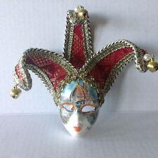 Original Firenze Souvenir Miniature Mask Wall Hanging decorated w The Duomo COA
