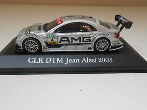 2849 COCHE MERCEDES CLK DTM JEAN ALESI 2005 1/43 1:43 MODEL CAR MINIATURE AMG