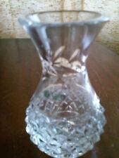 Galway Cut Crystal Bud Vase IRELAND