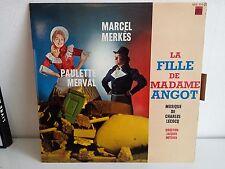 MERKES MERVAL La fille de Madame Angot XOC 191