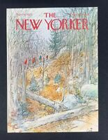 COVER ONLY ~ The New Yorker Magazine, November 10, 1975 ~ Arthur Getz