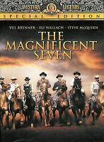 The Magnificent Seven Eli Wallach Yul Brynner Steve McQueen Special Edition DVD