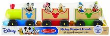 Baby Mickey Mouse Friends Train Wooden Disney Toys Toddler Kids Melissa Doug New