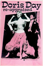 DORIS DAY RE-APPRAISED 1988 PROMOTIONAL UK POSTER