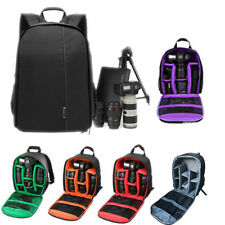 Camera Backpack Waterproof DSLR Compact Shoulder Bag Photograph Nikon Canon Sony
