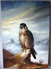 Contemporary (1980-Now) Oil Birds Art Paintings