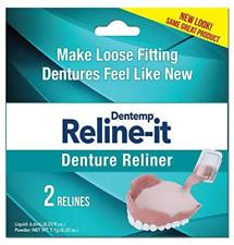 Dentemp Reline-It Denture Reliner