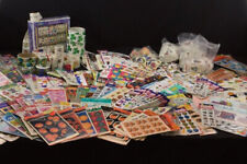 HUGE LOT 50 Scrapbooking Sticker Sheets Holidays Seasons Flowers + New No Dups