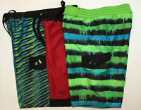 Big Boys lot Adidas Swim Shorts/Trunks Size M ~ Preowned ~ Stretched Waistbands
